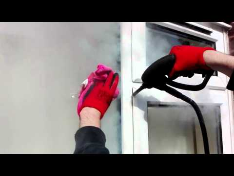 Steam Cleaning- Window Frames and Sills Cleaning- Wave Mobile Cleaning Services