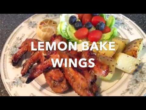 Fast Forward Cooking Lemon Bake Wings