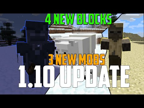 Minecraft 1.10 New Features (3 New Mobs,7 New Blocks,MORE) [1.10 Snapshot 16w20a] Stray & Polar Bear