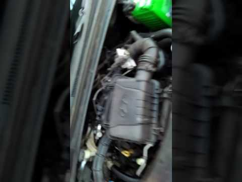 एयर  filter Cleaning Hyundai i 10