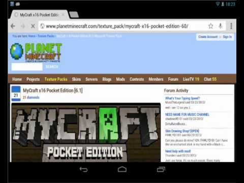 How to install texture packs to Minecraft Pocket Edition [ANDROID]