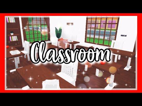 Welcome To BloxBurg: Room Build| School Classroom 🍎