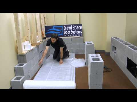 Vapor Barrier Training | Crawl Space Door Systems