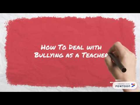 How To Deal With Bullying As A Teacher