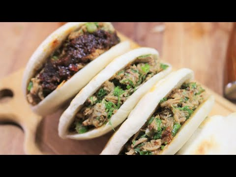 Best Chinese Street Food Rou Jia Mo Hamburger Recipe [陕西肉夹馍]