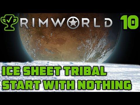 My first Pet Muffalo - Rimworld Ice Sheet Tribal Ep. 10 [Rimworld Beta 18 Ice Sheet Challenge]