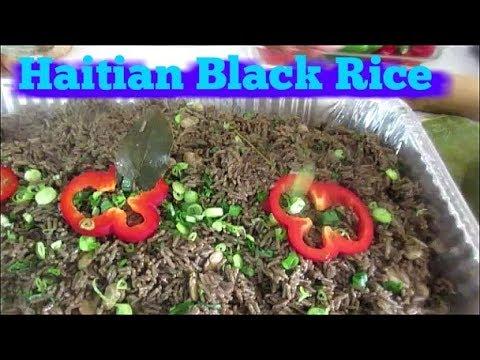 Haitian black rice by Keith Lorren