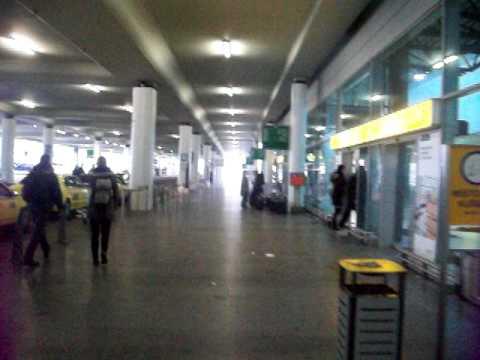 Prague airport terminal 2 bus to center