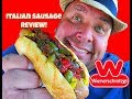 Wienerschnitzel® Gourmet Italian Sausage & Peppers REVIEW!