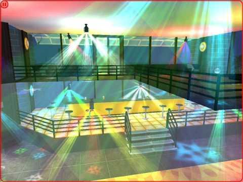 Sims 2 Cabana lounge Nightclub