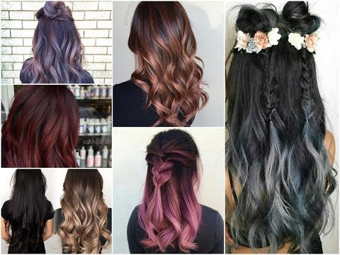 50+ Cool Balayage Ideas for Brunettes - Summer Hair Color Trends 2018