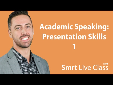 Academic Speaking: Presentation Skills 1 - English for Academic Purposes with Josh #35