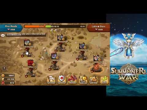 Summoners War - Guild Wars vs Latin Stars