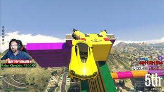 Grand Theft Auto V | GOD LEVEL PARKOUR KARENGE AAJ