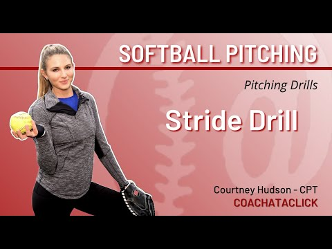 Easy Drill to Help Pitch More Strikes - Stride Drill