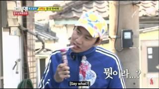 Image of: Seung Gi Lee Kwang Soo Vs Kim Jong Kook Running Man Funny Clips From Episode 147 Eng Fanpop Running Man Ep 99 Haha Busted