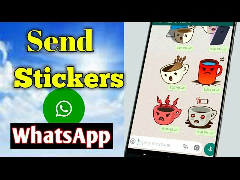 How to send sticker on whatsapp