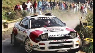 Carlos Sainz & Toyota Celica ST-185 `92 - with pure engine sound