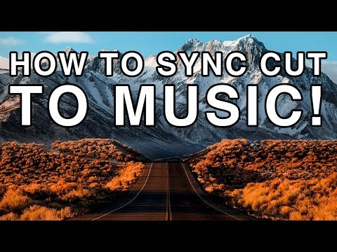 How to EDIT to the Beat | CUT & SYNC Video FOOTAGE to MUSIC | Adobe Premiere Pro CC Tutorial