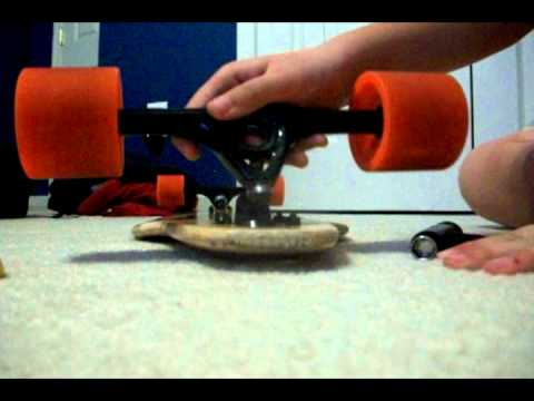 How to fix the squeak on your longboard bushings