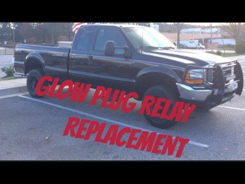 F-350 7.3 Glow Plug Relay Replacement