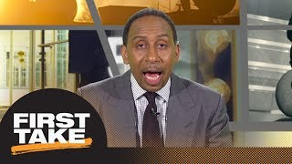 Stephen A. gives Sam Darnold
