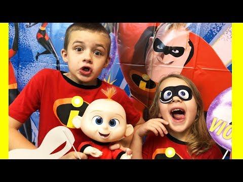 Disney Incredibles 2 Jack Jack Birthday Party Behind The Scenes
