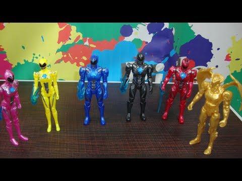 Power Rangers Movie Action Figure set