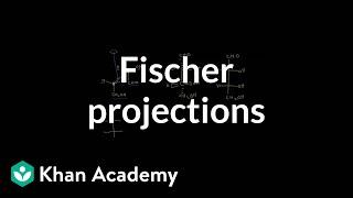 Fischer projections | Chemical processes | MCAT | Khan Academy