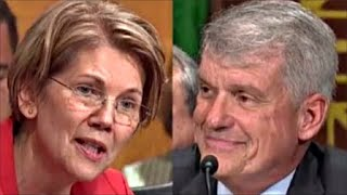 Elizabeth Warren wipes Smile off Wells Fargo CEO with Facts