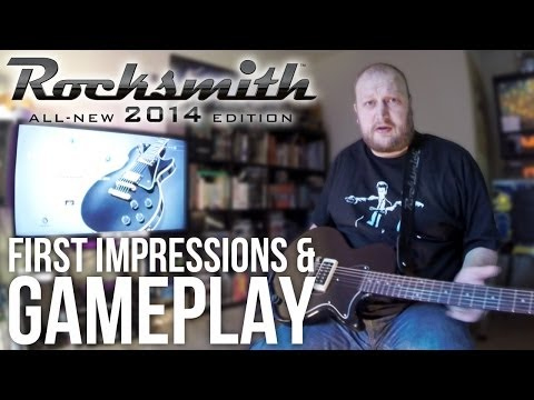 Rocksmith 2014 Review: First Impressions & Gameplay