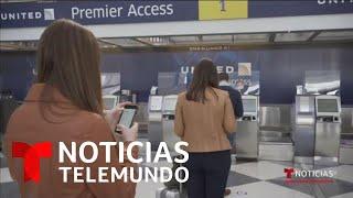 Coronavirus: Aeropuertos de EE.UU. se adaptan para regreso a la normalidad | Noticias Telemundo