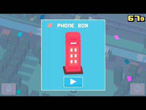 Crossy Road ☆ UNLOCK ☆ PHONE BOX ☆ | UK & Ireland Update (iOS,iPhone, iPad, Android)
