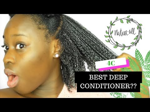BEST DEEP CONDITIONER FOR 4C NATURAL HAIR?! FOR DRY & DAMAGED HAIR! 💛NATURALL CLUB 💛