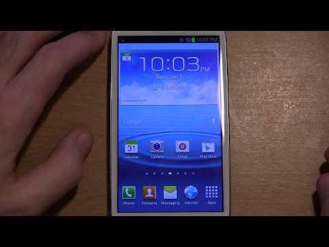 Setup: Samsung Galaxy S3