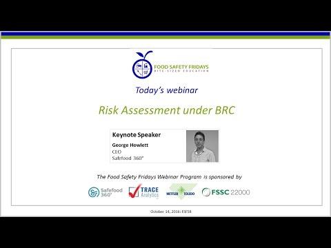 Risk Assessment under BRC
