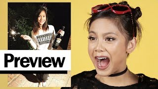 Download Ylona Garcia Reacts To Her Old Outfit Photos | Outfit Reactions | PREVIEW Video
