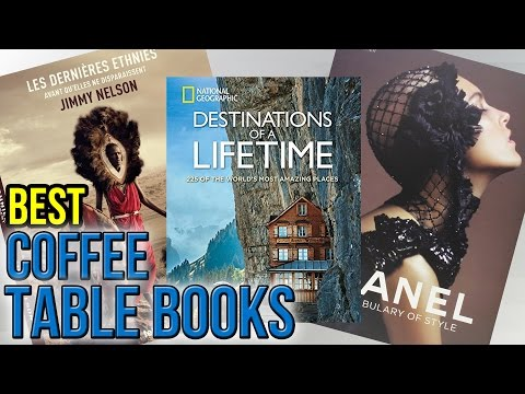 10 Best Coffee Table Books 2017