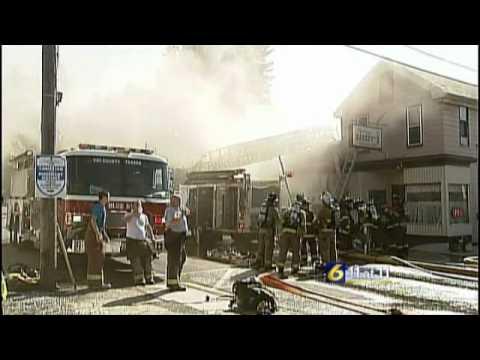 Portage Bakery damaged by fire