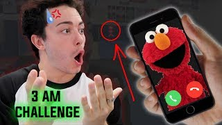 (GONE WRONG) CALLING ELMO ON FACETIME AT 3 AM // WHAT HAPPENS WHEN YOU FACETIME ELMO AT 3:00 AM