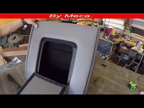 How to Make Truck Custom Center Console. Part 4-6 | How to Make center Console Compartment -  DIY