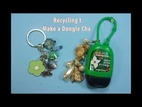 Recycling Old Jewelry to Make Dangle Charms