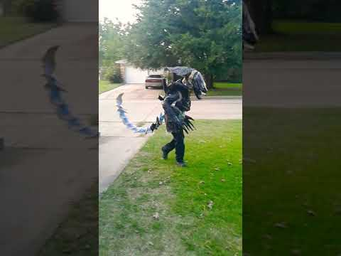 Home made alien costume