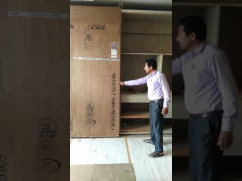 New wardrobe sliding fitting