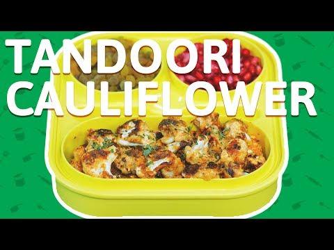 Tandoori Cauliflower Recipe - How To Make Tandoori Gobi - Quick & Easy Tiffin Recipe For Kids