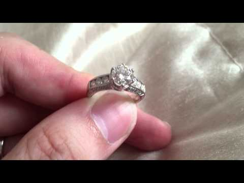 Video 2 of 2: GIA Certified 1 Carat Diamond, I Colour, VVS2 Clarity, Excellent Cut, Polish & Sym. NF