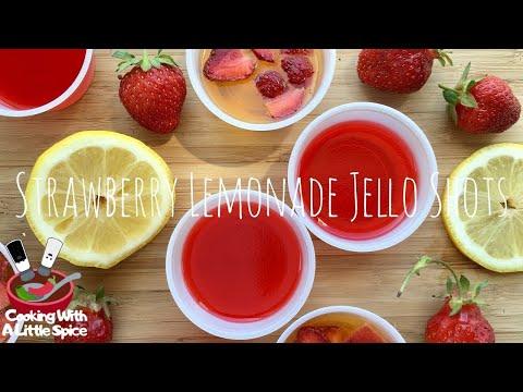 How to Make Strawberry Lemonade Jello Shots Recipe