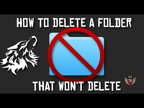 How to Force Delete Folder Windows 10(Could not find this item) - Unable to delete folder
