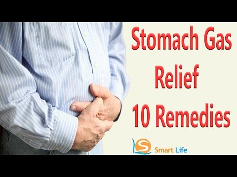 10 Best Remedies For Stomach Gas Relief