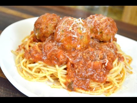 Mozzarella Stuffed Turkey Meatballs Recipe |How to make Marinara Sauce |Cooking With Carolyn